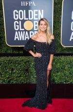 RENEE BARGH at 75th Annual Golden Globe Awards in Beverly Hills 01/07/2018