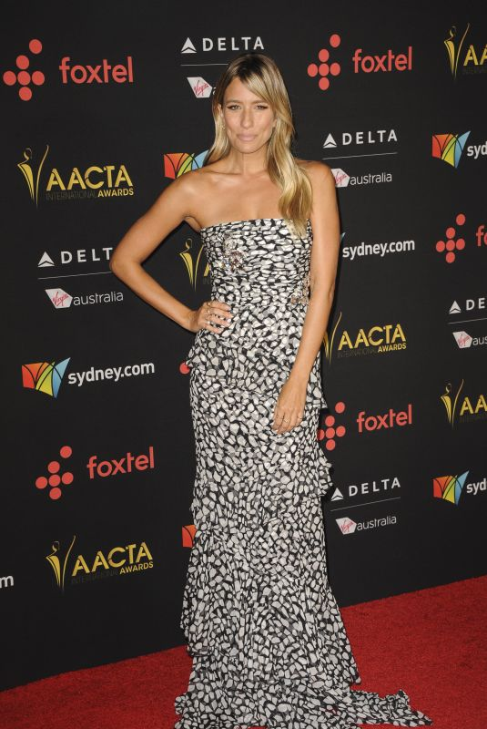 RENEE BARGH at 7th AACTA International Awards in Los Angeles 01/05/2018