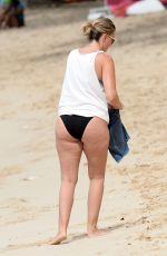 RHEA DURHAM in Bikini on the Beach in Barbados 01/02/2018