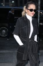 RITA ORA Arrives at Z100 Radio Studios in New York 01/31/2018
