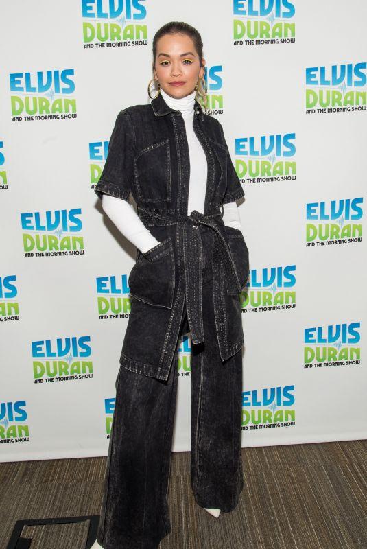 RITA ORA at Elvis Duran Z100 Morning Show in New York 01/31/2018