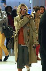 RITA ORA at JFK Airport in New York 01/23/2018