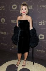 RITA ORA at Warner Music Pre-grammy Party in New York 01/25/2018