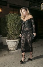 RITA ORA Heading to a Grammys After Party in New York 01/28/2018