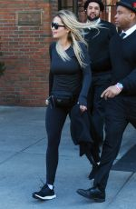 RITA ORA Heading to a Gym in New York 01/24/2018