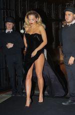 RITA ORA Leaves Bowery Hotel in New York 01/28/2018