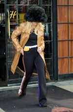 RITA ORA Leaves Bowery Hotel in New York 01/30/2018