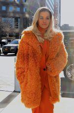 RITA ORA Out in New York 01/26/2018