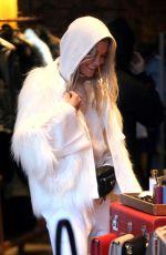 RITA ORA Shopping at Prada in Aspen 12/31/2017