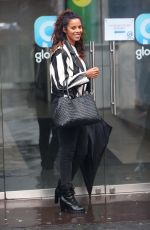 ROCHELLE HUMES at Global Radio Studios in London 01/20/2018