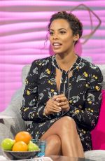 ROCHELLE HUMES at Lorraine TV Show in London 01/30/2018