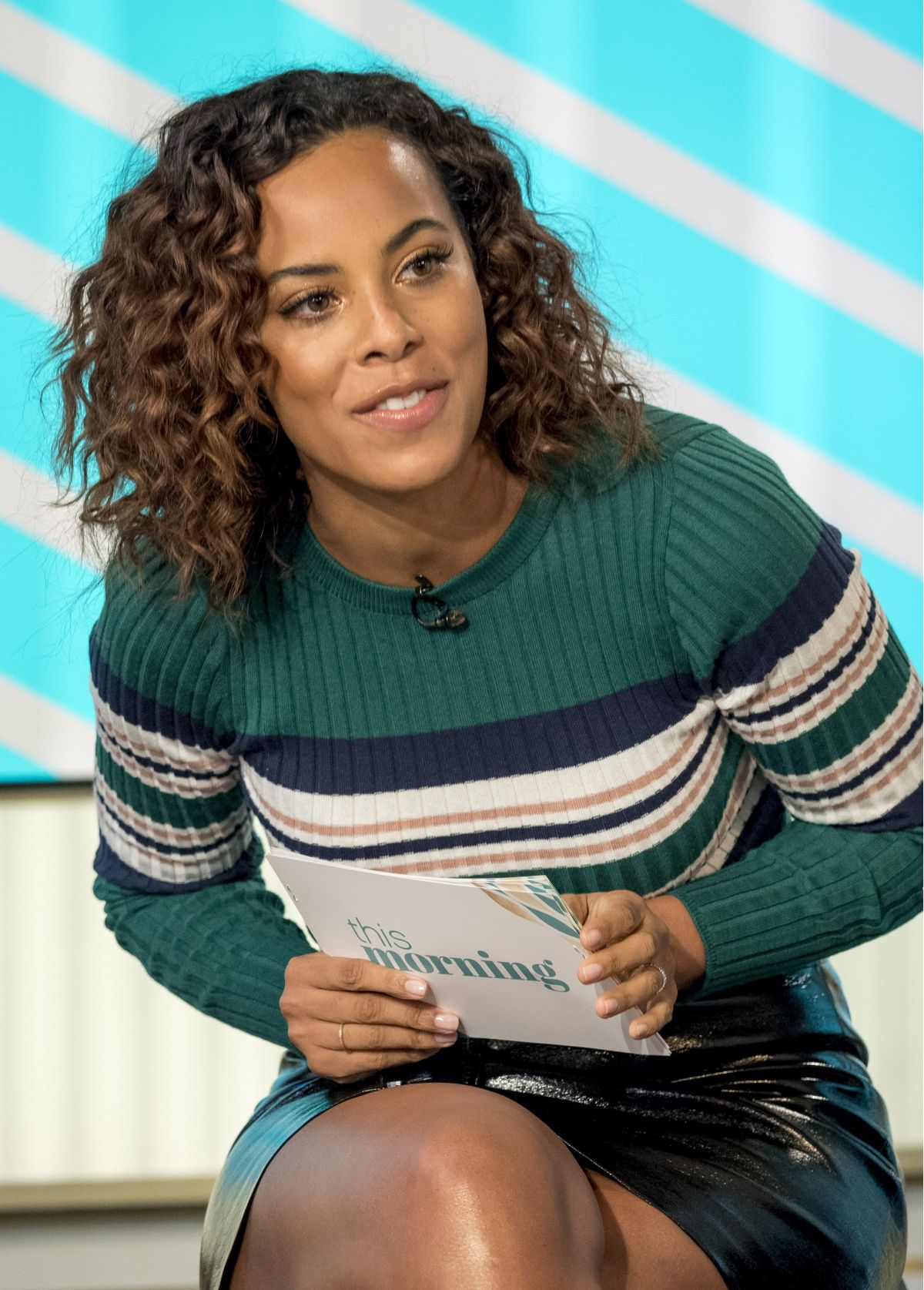 ROCHELLE HUMES at This Morning TV Show in London 01/25 ...