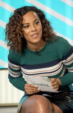 ROCHELLE HUMES at This Morning TV Show in London 01/25/2018