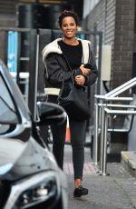 ROCHELLE HUMES Leaves ITV Studios in London 01/30/2018