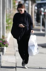 ROONEY MARA Shopping at Melrose Avenue in West Hollywood 01/02/2018