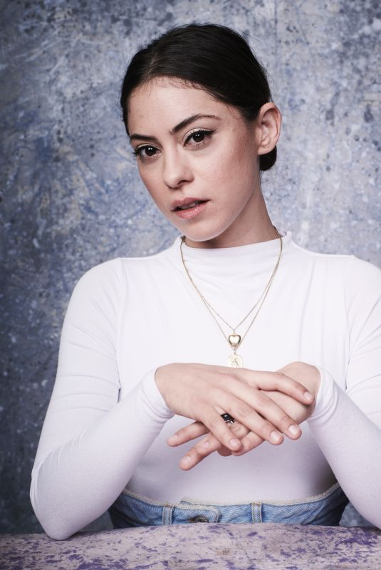 ROSA SALAZAR at Deadline Studio at Sundance Fil Festival 01/19/2018