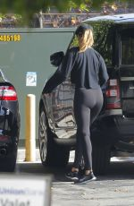 ROSIE HUNTINGTON-WHITELEY Heading to a Gym in Los Angeles 01/12/2018
