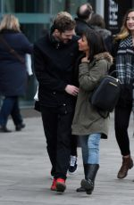 ROXANNE PALLETT Out on Date in Manchester 01/13/2018