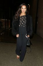 ROXIE NAFOUSI Arrives at Gizzi Erskine x Tanqueray No. Ten Table Launch Party in London 01/30/2018