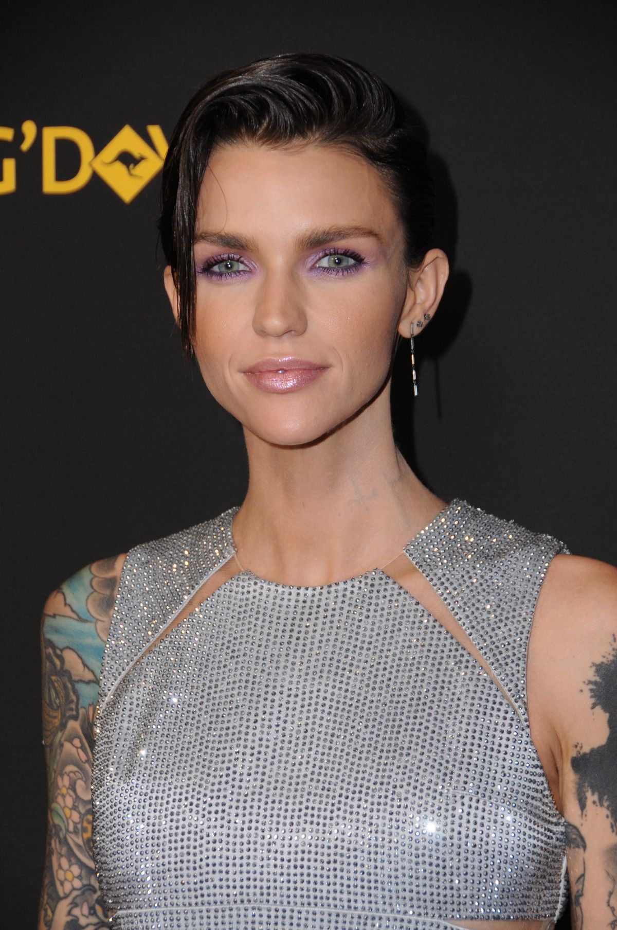 Ruby Rose At 15th Annual G Day Usa Los Angeles Black Tie