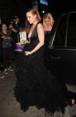 RUMER WILLIS Arrives at Poppy Nightclub in Los Angeles 01/07/2018