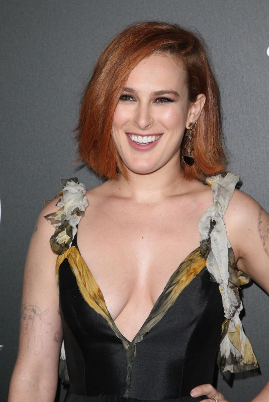 RUMER WILLIS at The Art of Elysium Heaven in Los Angeles 01/06/2018