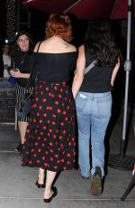 RUMER WILLIS Out for Dinner with a Friend in Beverly Hills 01/12/2018