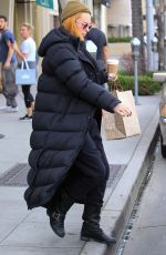 RUMER WILLIS Out for Lunch at Cafe Gratitude in Beverly Hills 01/30/2018