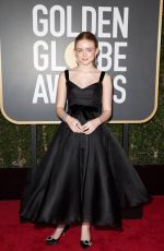 SADIE SINK at 75th Annual Golden Globe Awards in Beverly Hills 01/07/2018