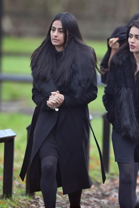 SAIR KHAN and BHAVNA LIMBACHIA on the Set of Coronation Street in Manchester 01/08/2018