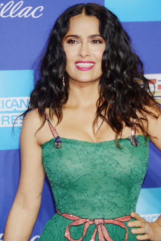 SALMA HAYEK at 29th Annual Palm Springs International Film Festival Awards Gala 01/02/2018