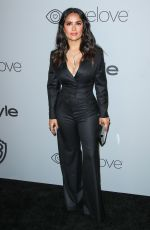 SALMA HAYEK at Instyle and Warner Bros Golden Globes After-party in Los Angeles 01/07/2018