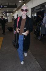 SAOIRSE RONAN at Los Angeles International Airport 01/11/2018