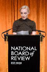SAOIRSE RONAN at National Board of Review Annual Awards Gala in New York 01/09/2018