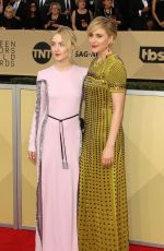 SAOIRSE RONAN at Screen Actors Guild Awards 2018 in Los Angeles 01/21/2018