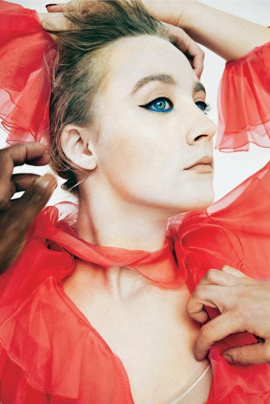 SAOIRSE RONAN in Gioia Magazine, January 2018 Issue
