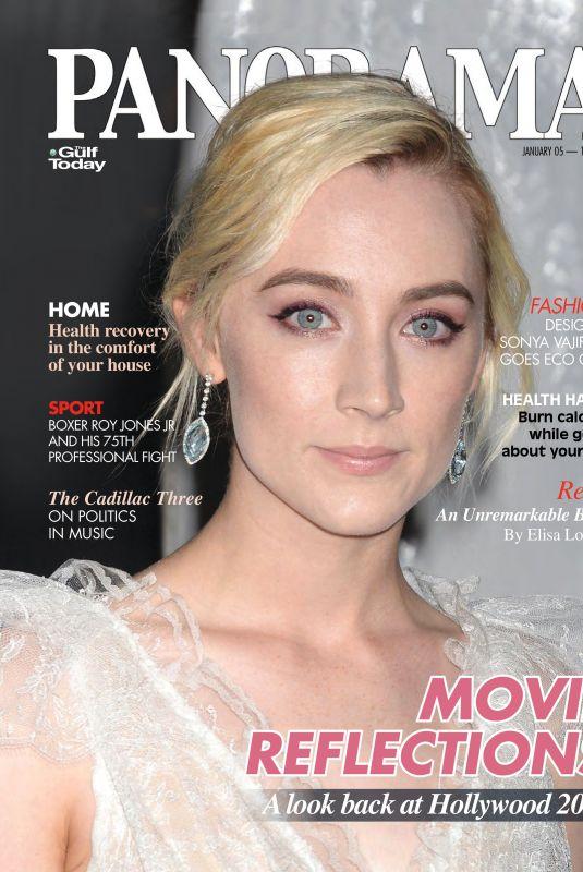 SAOIRSE RONAN in Panorama Magazine, January 2018 Issue