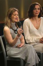 SARA COLANGELO and MAGGIE GYLLENHAAL at Deadline Studio at Sundance Fil Festival 01/19/2018