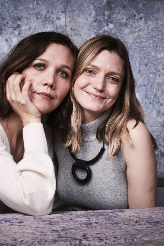 SARA COLANGELO and MAGGIE GYLLENHAAL at Deadline Studio at Sundance Fil Festival 01/19/2018