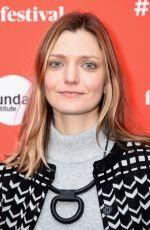 SARA COLANGELO at Un Traductor Premiere at 2018 Sundance Film Festival in Park City 01/19/2018