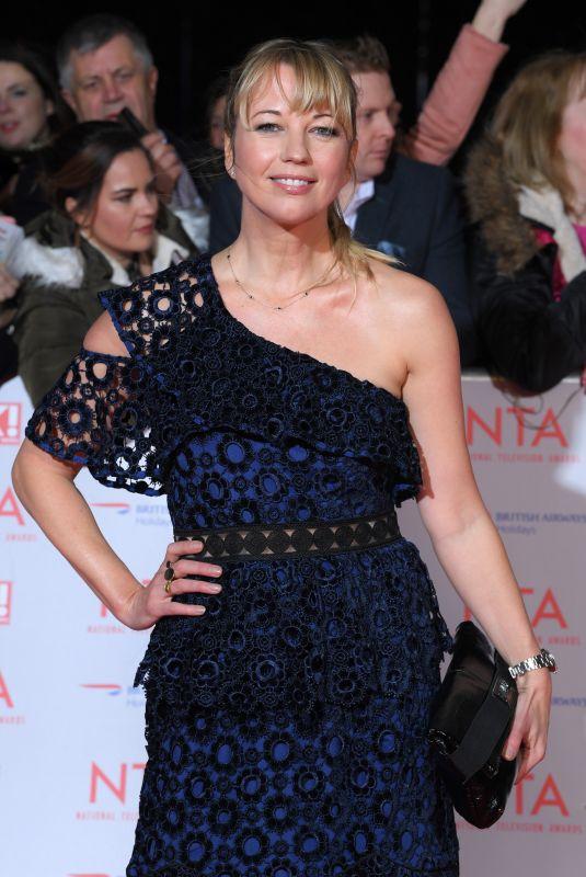 SARA COX at National Television Awards in London 01/23/2018