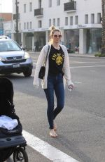 SARA FOSTER Out Shopping in Beverly Hills 01/02/2018
