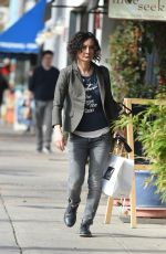 SARA GILBERT Out and About in Los Angeles 01/02/2018