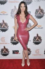 SARA MALAKUL LANE at Kickboxer Retaliation Premiere in Los Angeles 01/17/2018