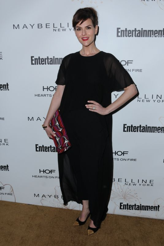 SARA RUE at Entertainment Weekly Pre-SAG Party in Los Angeles 01/20/2018