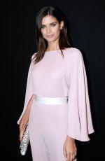 SARA SAMPAIO at Giorgio Armani Prive Show at 2018 Haute Couture Fashion Week in Paris 01/23/2018