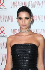 SARA SAMPAIO at Sidaction Gala Dinner in Paris 01/25/2018
