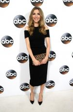 SARAH CHALKE at Disney/ABC Television TCA Winter Press Tour in Los Angeles 01/08/2018