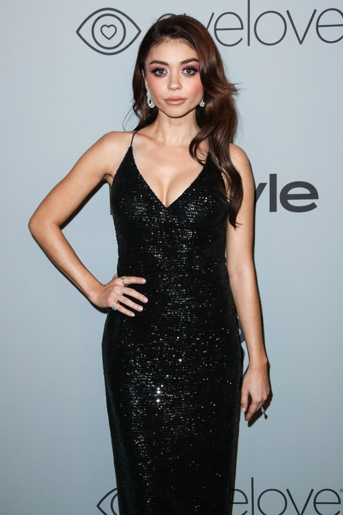 SARAH HYLAND at Instyle and Warner Bros Golden Globes After-party in ...