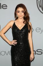 SARAH HYLAND at Instyle and Warner Bros Golden Globes After-party in Los Angeles 01/07/2018